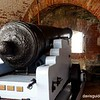 Cannon in casemate at Fort Adams, Newport RI
