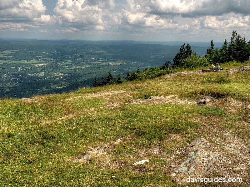 View from summit of Mount Greylock, MA