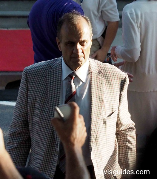 Joe Torre at Hall of Fame parade, Cooperstown NY