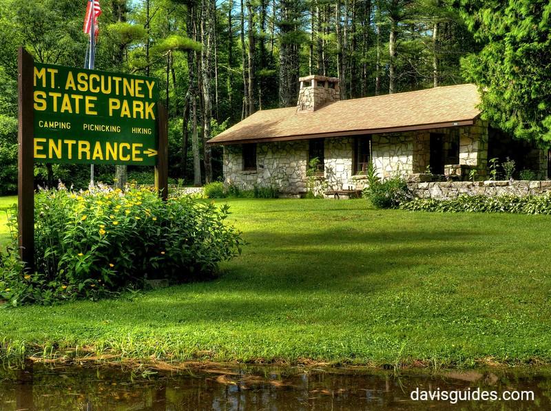 CCC built caretaker cottage at Ascutney State Park, VT