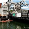 Mystic River drawbridge, Mystic CT