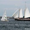 Sailboats on Naragansett Bay, Newport RI