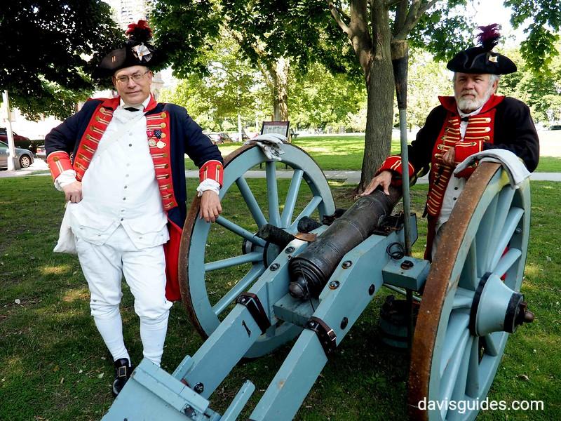 Revolutionary War reenactors, Newport RI