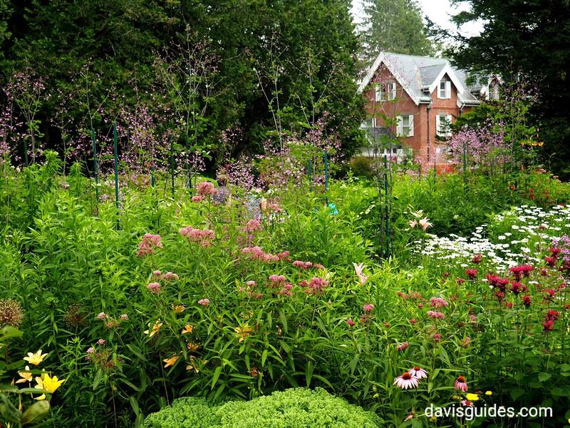 Gardens and home, Marsh Billings Rockefeller NHS, VT