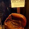 Yogi Berra's glove used to catch Don Larsen's perfect game in 1956 World Series