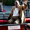 Hank Aaron at Hall of Fame parade, Cooperstown