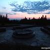 Sunset over Mount Greylock, MA