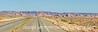 An Arizona highway through Navajo country