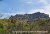 A landscape near Globe, Arizona; shot from a moving vehicle, so not as sharp as I'd like.
