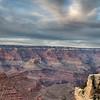 South Rim of the Grand Canyon at dusk, Arizona