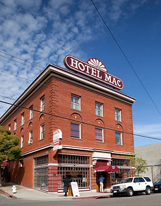 The Hotel Mac in downtown Point Richmond