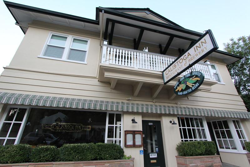 The Calistoga Inn in Calistoga, CA.