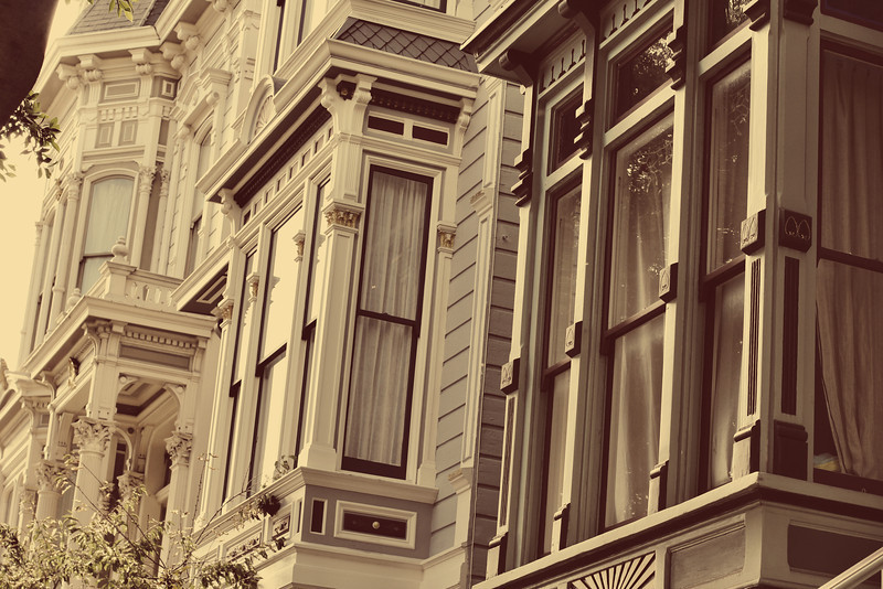 I was fascinated by the architecture of so many of the homes in SF.
