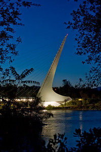 I See a Sundial Sundial Bridge, Redding, CA