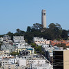 Nob Hill, with Coit Tower.