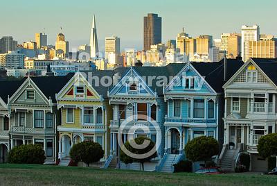 """""""Painted Ladies"""", San Francisco"""