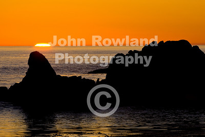 Sunset at Monterey Bay