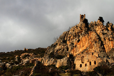 St.Hillerion Castle in the Winter, Northern Cyprus