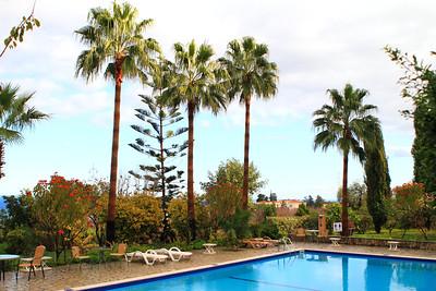 Bellapais Gardens Hotel in December, Kyrenia, Northern Cyprus