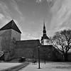 Vanalinn, Tallinn, Estonia. January, 2015.