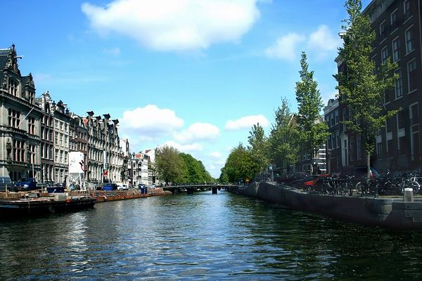 The Canal - Amsterdam, Netherlands