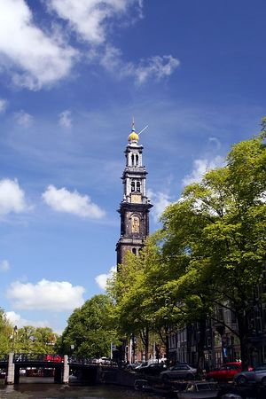 The Steeple - Amsterdam, Netherlands - Colour Print