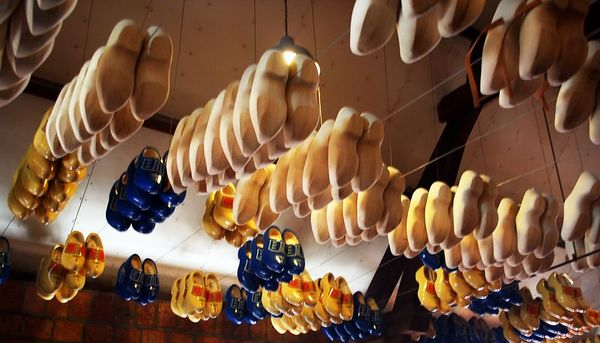 Wooden Shoes - Amsterdam, Netherlands - Colour Print
