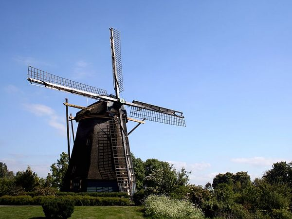 Windmill - Amsterdam, Netherlands - Colour Print