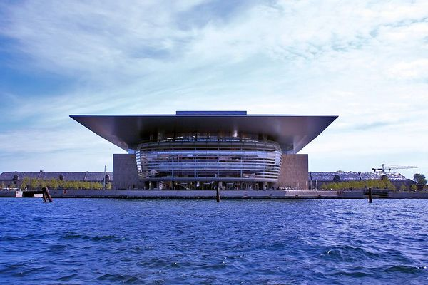 The new opera house