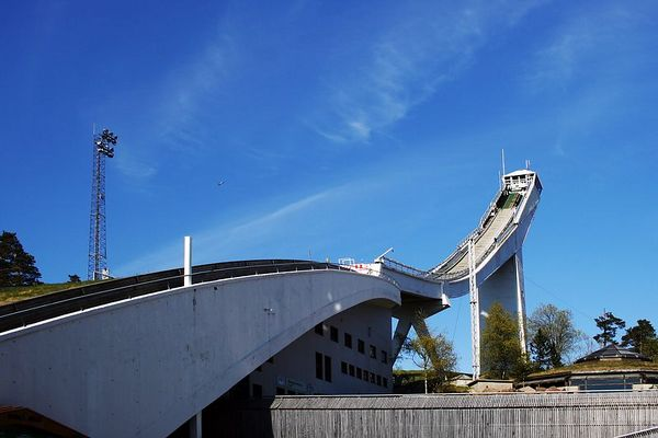 The ski jump at Holmenkollen