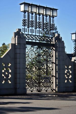 Vigeland Sculpture Park Gates