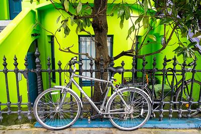 Silver Bike- London, England
