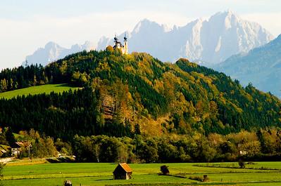 Hilltop Church- Austria