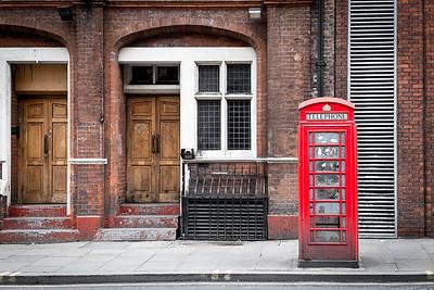 Phone Box- London, England