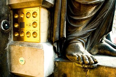 Brass Doorbells- Vienna, Austria