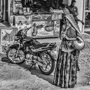 India in Black and White