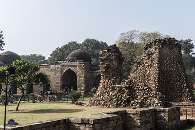 Ruins in the Qutub complex.