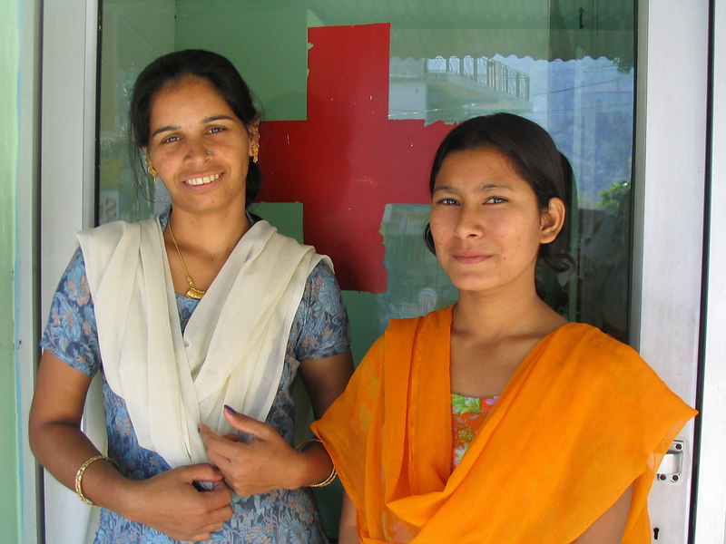 Lahkshmi and Devi.  These two ladies have seen more of me than my mother.