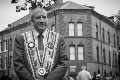 Orangeman12th July parade, Belfast (2019)
