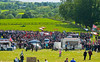 "Huge crowds gather at the annual ""Sham Fight"" Pageant celebrated at Scarva Co. Down on 13 July every year"