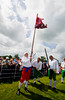 "The Battle of the Boyne between King William of Orange and King James is reinacted at the annual ""Sham Fight"" Pageant celebrated at Scarva Co. Down on 13 July every year (2)"