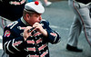 A flute player from the Clogher Protestant Boys Band during the annual 12th of July Orange Order march through Waringstown, County Down, Northern Ireland
