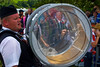 "A drummer marching at the annual ""Sham Fight"" Pageant celebrated at Scarva Co. Down on 13 July every year"