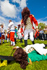 "The Battle of the Boyne between King William of Orange and King James is reinacted at the annual ""Sham Fight"" Pageant celebrated at Scarva Co. Down on 13 July every year"