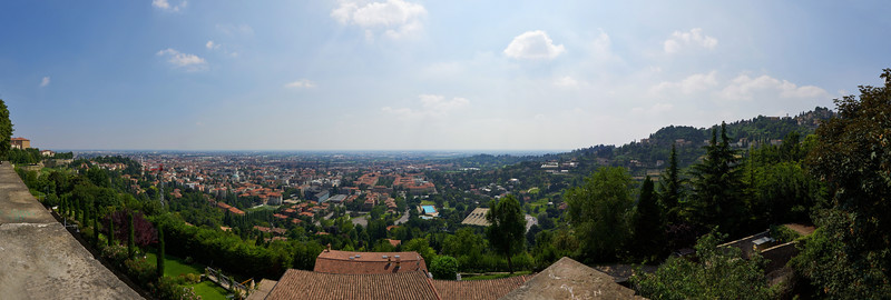 Panorama over Bergamo  bassa