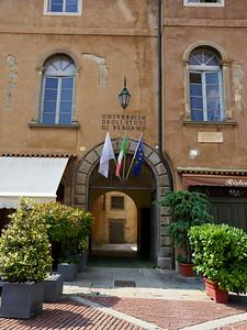 Universita degli studi di Bergamo. Bergamo alta