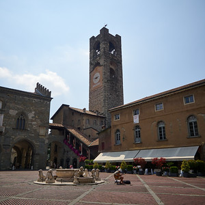 Ambasciata culturale Europea. Bergamo alta