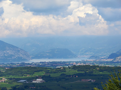Montorfano. A View to Lake Iseo