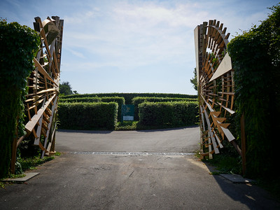 Ca del Bosco winery port. Franciacorta DOCG