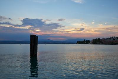 Sunset. Sirmione. Lago di Garda